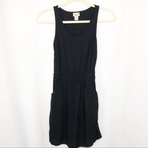 Mossimo little black dress size xs back cut out